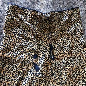 Leopard Beachwear Pants